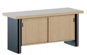 Armário para escritório de madeira (2)