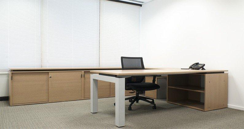 Armário para escritório de madeira (3)