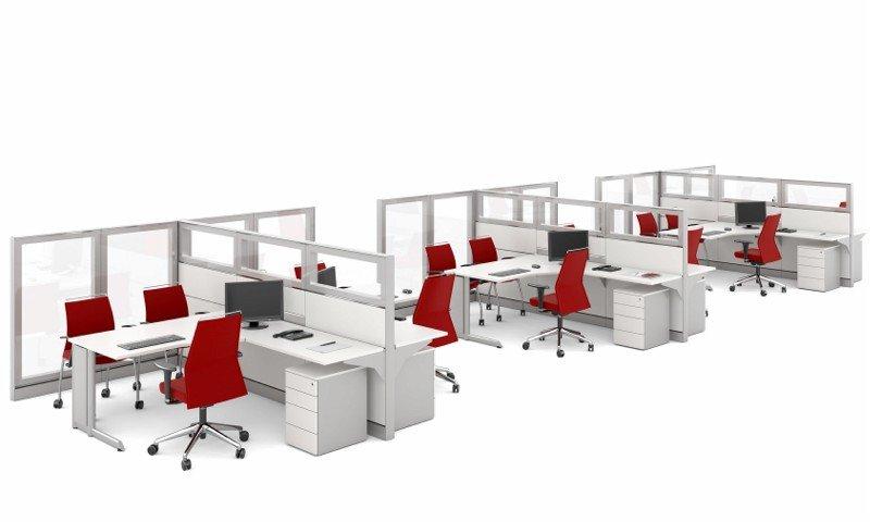 Biombo de vidro para escritório (2)