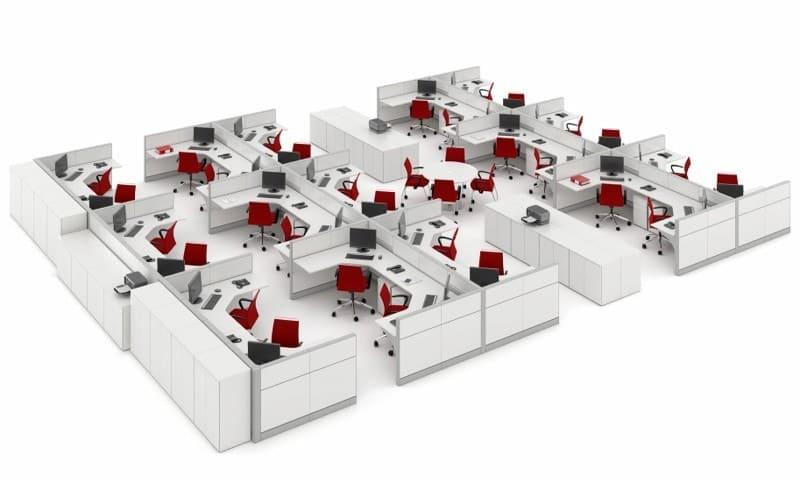 Biombos para escritório (2)