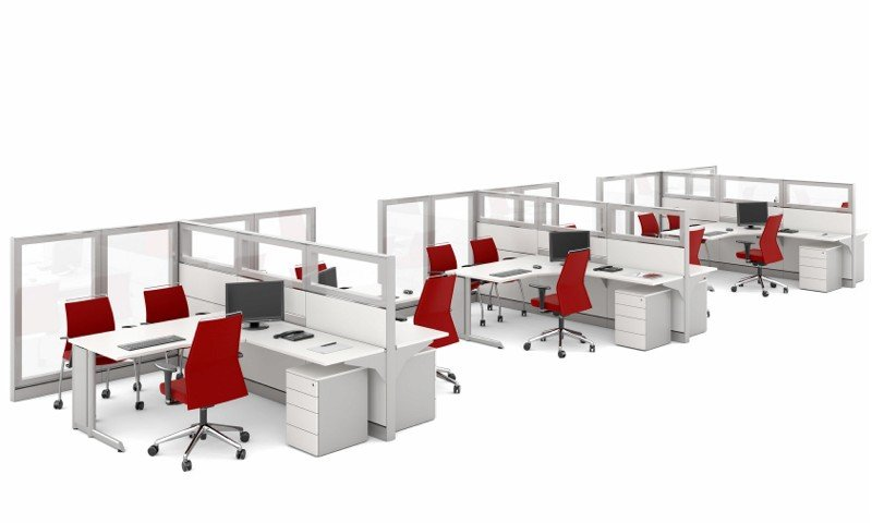 Biombos para escritório (3)
