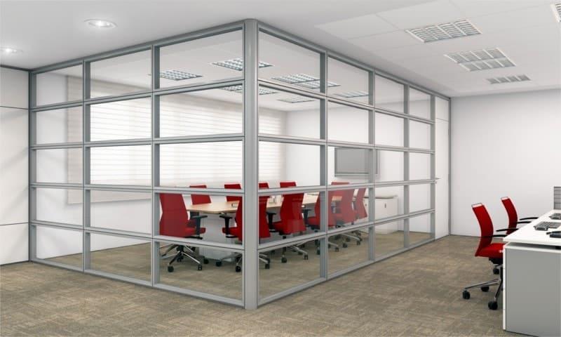 Divisória piso teto vidro (3)