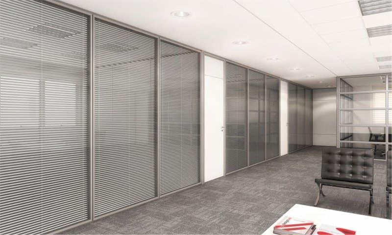 Divisórias com persianas entre vidros (1)