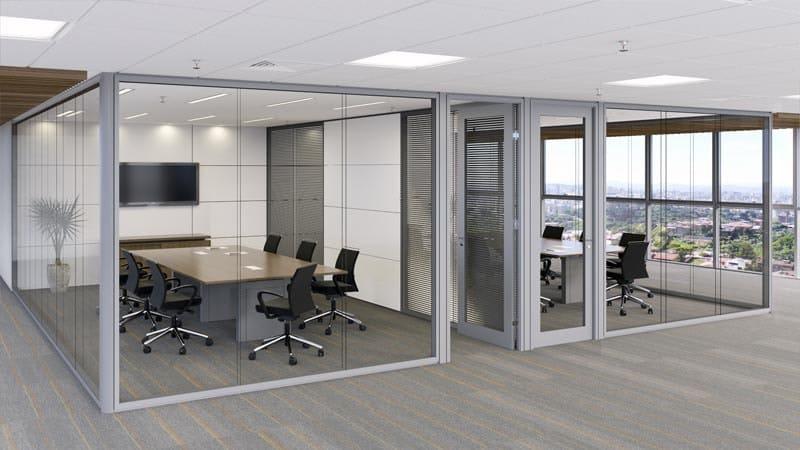 Divisórias de vidro para escritório (2)
