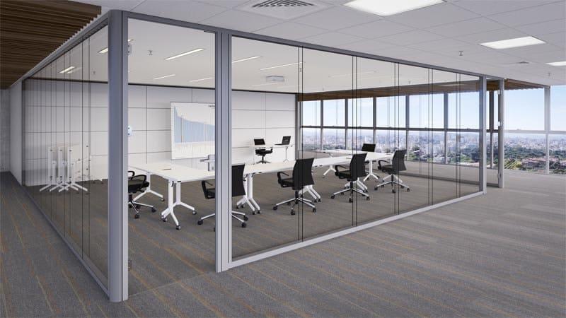 Divisórias de vidro para escritório (3)