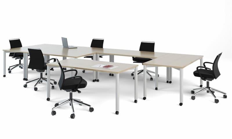 Mesa de escritório com regulagem de altura (2)