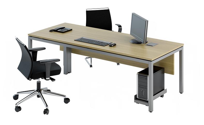 Mesa de reunião quadrada (2)