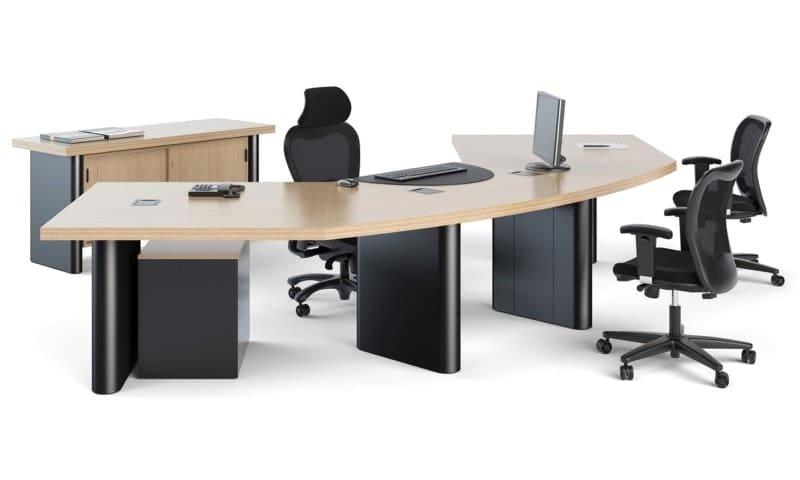 Mesa de reunião redonda (1)