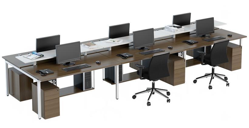 Mesa de reunião retangular (2)